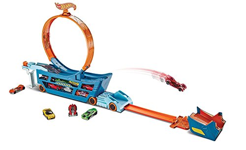 (Hot Wheels Stunt n' Go Track Set )