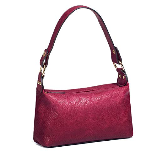 AMELIE GALANTI Women Small Crossbody Bag Lightweight Top-handle Bags Shoulder Bags Red Purses