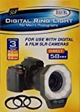 518AF Digital Ring Flash for Macro Photography Compatible With Digital & Film SLR Cameras