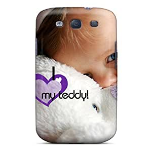 Forever Collectibles Love U Teddy Hard Snap-on Galaxy S3 Case
