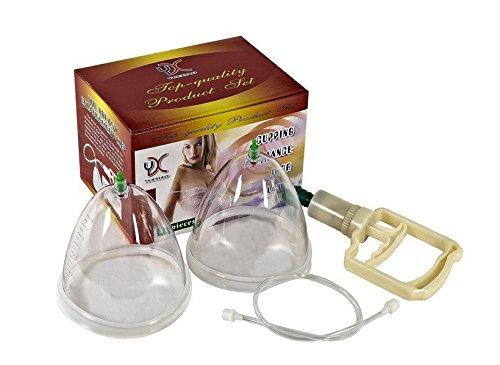 Doble taza grande 2 tazas mama mejora Cupping Kit niple Sukcer masaje