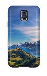 ZippyDoritEduard Snap On Hard Case Cover Mountain Protector For Galaxy S5