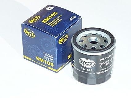 10 x SCT Germany SM105 Filtro de aceite: Amazon.es: Coche y moto