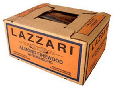 Lazzari Fuel Company 0 75997 00601 4 Almond Firewood, 0.70 cu.ft.