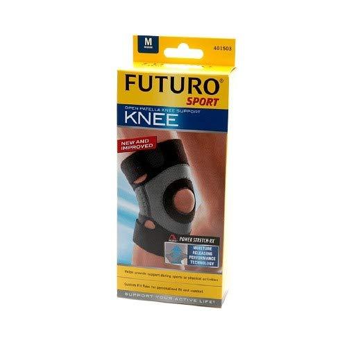 Futuro Sport Moisture Control Knee Support Medium Black (Pack of -