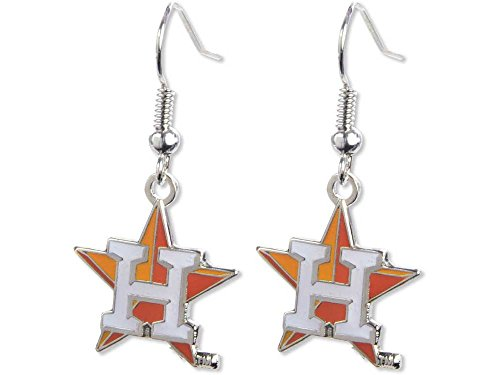 MLB Houston Astros 92830013 Earrings Jewelry Card Astro Jewelry