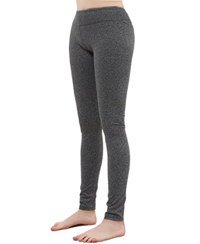 Bentibo Women's High Waist Yoga Spandex Pant - Grey