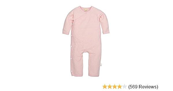 3a8baa9c5 Amazon.com  Burt s Bees Baby - Baby Girls  Romper Jumpsuit