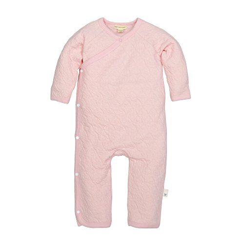 Burt's Bees Baby Baby Girls' Romper Jumpsuit, 100% Organic Cotton One-Piece Coverall, Blossom Quilted Kimono, ()