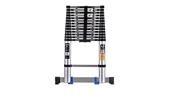 Extensibles Escalera telescópica de aluminio portátil de extensión multiusos Ligera plegable Loft escalera para el hogar Grden (Size : 3.45m(11.3ft)): Amazon.es: Bricolaje y herramientas