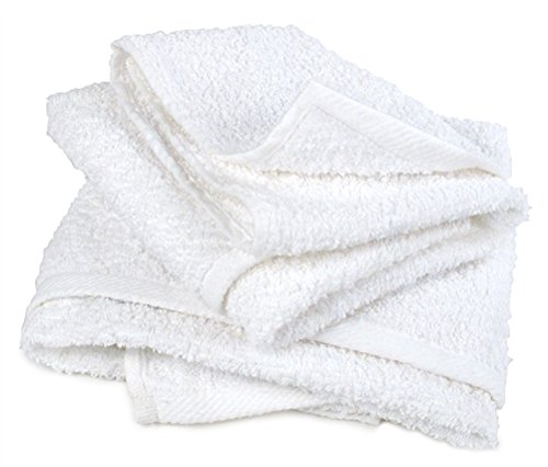 Terry Detail Towels - Hemmed Half Towels, 50LB box by Buffalo Industries