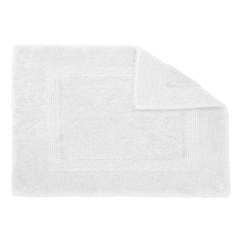 Habidecor Reversible Bath Rug - Medium (23'' x 39'') White (100) by Abyss Habidecor