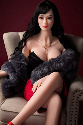 OPLIsKV 168cm Really Beautiful Woman, Silicone Doll, Full Silicone Male Real Person Simulation Girlfriend