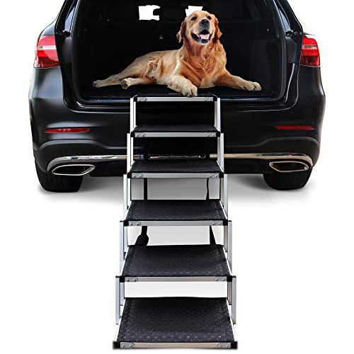 Escalera 6 Escalones Perros Niubya Dog Soporta 68 A 90kg
