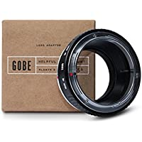 Gobe Lens Adapter: Canon FD-mount Lens to Micro Four Thirds (M4/3) Camera Body