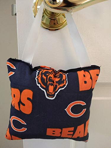 Tooth Fairy Bear - Tooth fairy Pillow NFL Bears with pocket for money, Girl or boy. Teeth Chart included. Kids