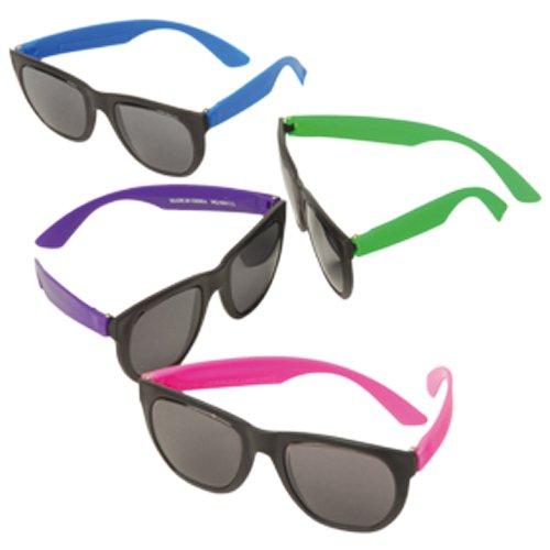 NEON RUBBER SUNGLASSES , SOLD BY 9 - Sunglasses Neon Rubber
