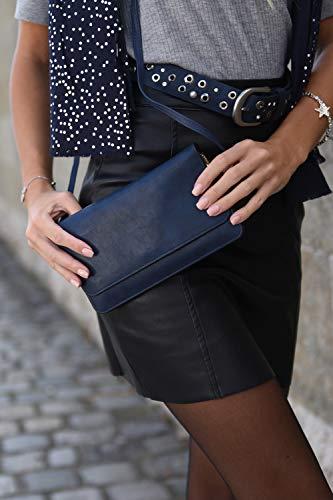 blu Stylebreaker Portafogli Patta grey Colore E Tracolla Con Scuro blu Pochette Light Sera Da Donna Borsa 02012259 Notte 7zwxr7pFqI