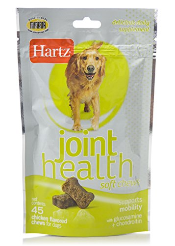 HARTZ Chicken Flavored Joint Health Soft Chews for Dogs- 45 Count 41IH 2BY7lOjL