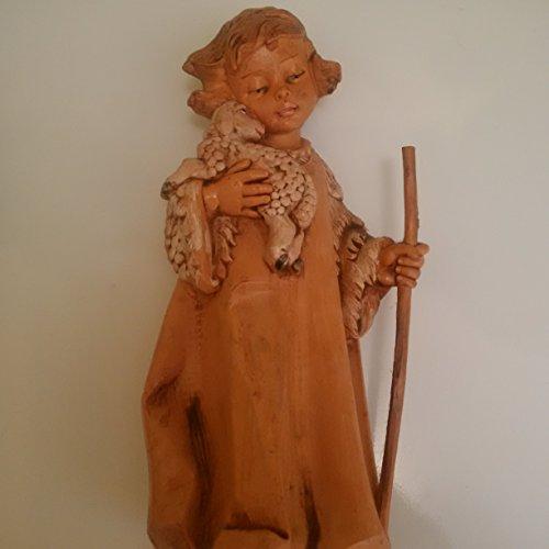 Angel Shepherd Fontanini Figurine, Angel Shepherd Figure by Fonatanini