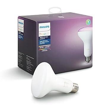 Philips BR30 - Bombilla LED regulable, equivalente a 60 W, equivalente a Alexa, Apple HomeKit, y Google Assistant (Residentes de California): Amazon.es: ...