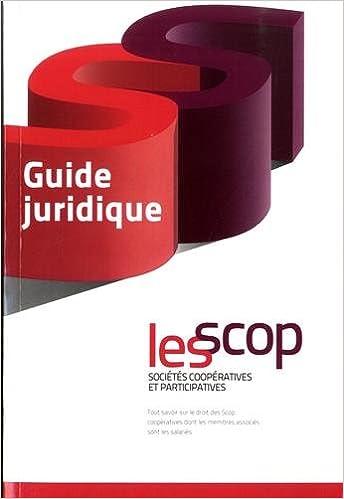 SCOP JURIDIQUE TÉLÉCHARGER GUIDE DES