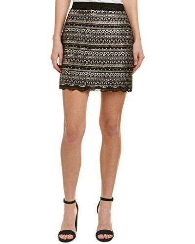 Top Laundry by Shelli Segal Womens Mini Skirt, 8, Black