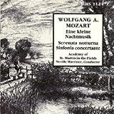 Wolfgang Mozart: Eine kleine Nachtmusik/Serenata notturna/Sinfonia concertante