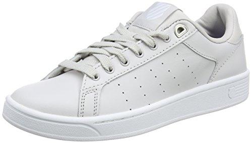 K-Swiss Women Clean Court CMF Fashion Sneaker Wind Chime/White
