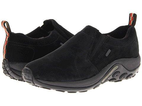 うがい常習的レルム(メレル) MERRELL メンズランニングシューズ?スニーカー?靴 Jungle Moc Waterproof Black 8.5 26.5cm M [並行輸入品]