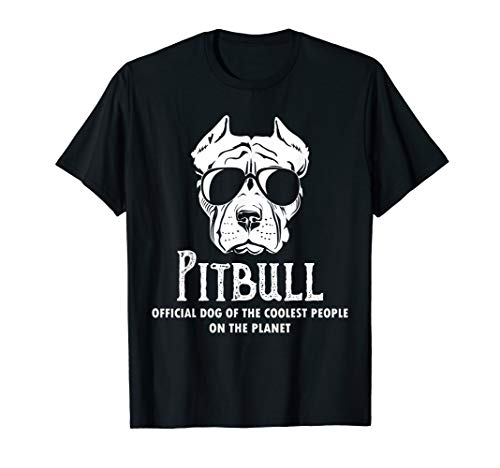 Pitbull official of the coolest people on the planet Tshirt
