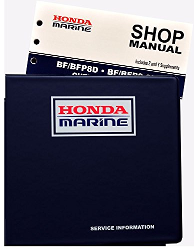 Amazon Honda BF8 BF99 D Model Marine Outboard Service Repair Shop Manual Sports Outdoors