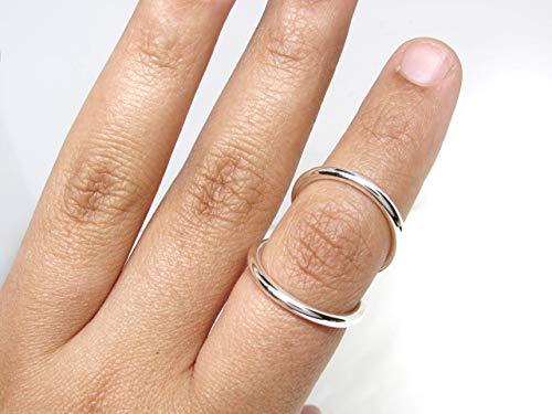 Swan Splint Ring Adjustable for PIP or DIP Joint • Swan Neck Splint