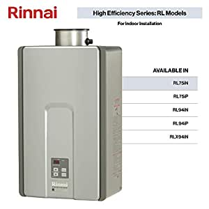 Rinnai Rl75in Natural Gas Tankless Water Heater 7 5