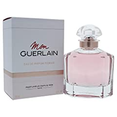 Launched by the design house of Guerlain in the year 2018. This floral fragrance has a blend of mandarin orange, vanilla, iris, sandalwood, peony, jasmine, ylang ylang, and peach.