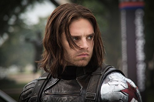 Bucky - Captain America: The Winter Soldier 2014 : Movie Poster Thick Original -