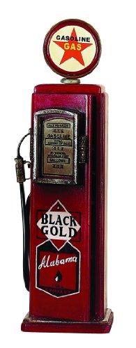 Deco 79 Wood Gas Pump CD Holder, 33-Inch