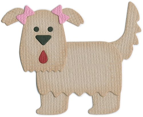 QUICKUTZ We R Memory Keepers KS-0550 2 by 2-Inch Dies, Dog