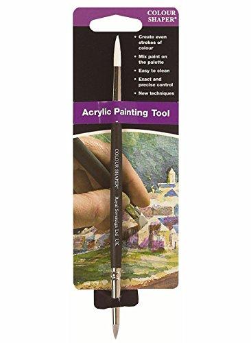 Colour Shaper Double-End Acryl Paint Tool #2 by Colour Shaper