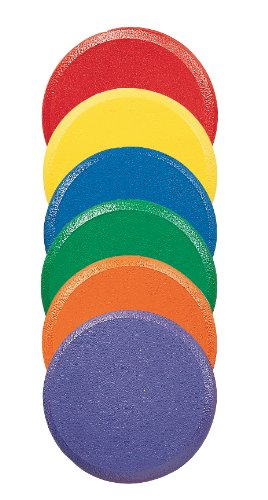 Champion Sports Rounded Edge Foam Discs by Champion Sports