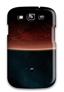 New Moon Sci Fi Red Space Stars Earth Planets People Sci Fi Tpu Skin Case Compatible With Galaxy S3