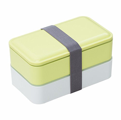 MacDiaz Leakproof Japanese Bento boxes For Adults and Kids,Microwave safe,GREEN