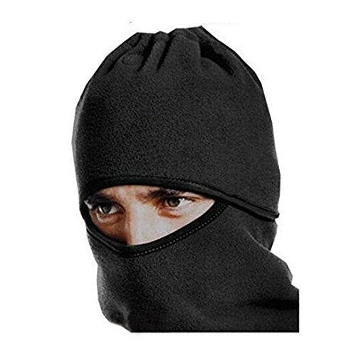 SUPOW(TM) Outdoor Sports Unisex Fleece Anti Dust Professional Protective Face Mouth Masks/Windproof Bicycle Bike Cycling Mask/Electric Motorcycle Helmet Snowboard Ski Winter Warm Neck Face Hat Cap/Health Air Pollution Filter Antifogging Respirator Cycling Mouth-Muffle Dustproof - Repeated Use Dust Prevention Mask Visor - Black - Electric Snowboard Helmet