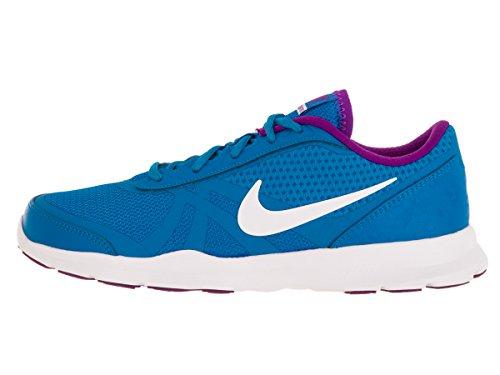 Nike W Core Motion Tr 2 Mesh, Zapatillas de Gimnasia para Mujer, Morado, Taille Azul (Photo Blue / White-Hyper Violet)