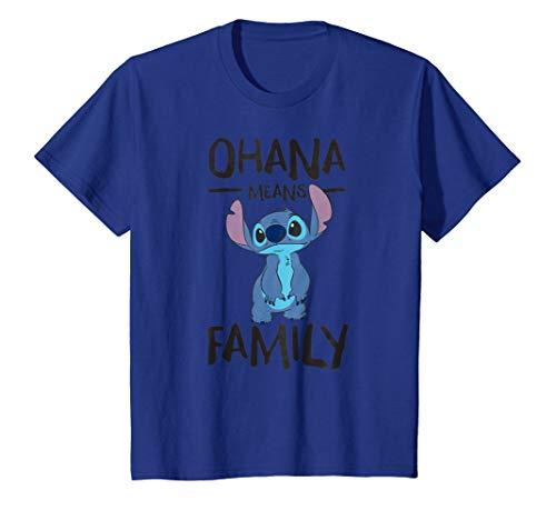 Disney Stitch Ohana Means Family T Shirt