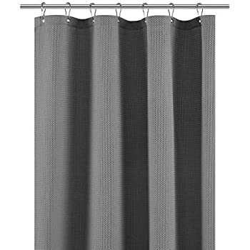 stall shower curtain fabric 36 x 72 inch waffle weave spa hotel collection. Black Bedroom Furniture Sets. Home Design Ideas