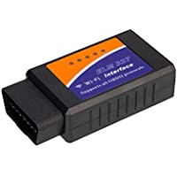 Wifi Car OBD2 Scanner - Obdator OBDII Code Reader Automotive Check Engine Light Diagnostic Tool for Android and IOS, Black