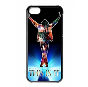 MMZ DIY PHONE CASEMichael Jackson theme Hard ipod touch 5 back case designed by padcaseskingdom