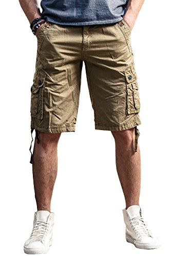 FLY HAWK Shorts Drawstring Multi pockets product image