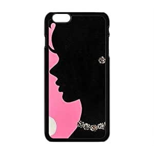 Beautiful mature lady Cell Phone Case for Iphone 6 Plus